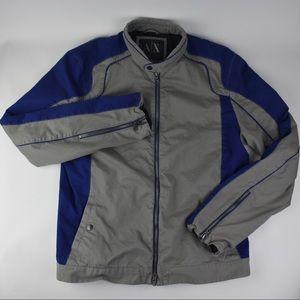 Men's Armani Exchange XL Bomber Motorcycle Jacket